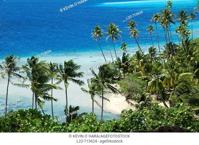 Bora-Bora. Islands in the Windward. Archipelago of Society Islands. Southern Pacific Ocean. French Polynesia