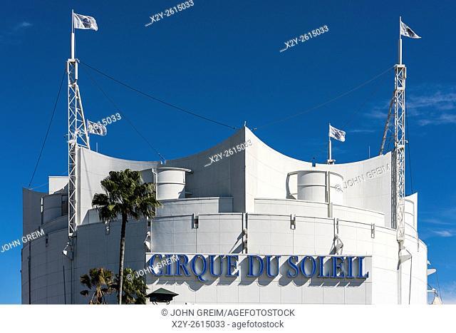 Cirque du Soleil theater, Disney Springs, Orlando, Florida