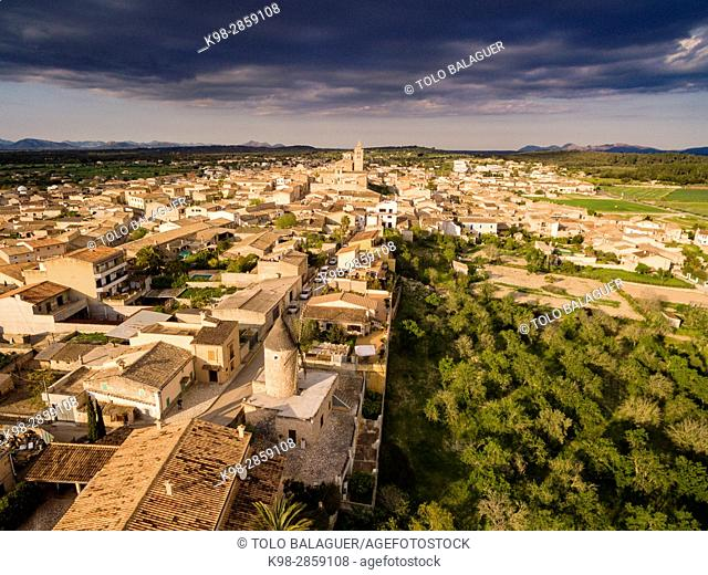 Sineu, Mancomunidad del Pla, Mallorca, balearic islands, spain, europe