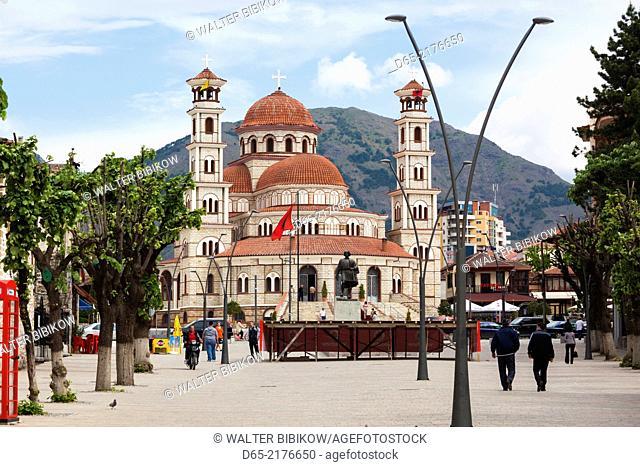 Albania, Korca, the Orthodox Cathedral