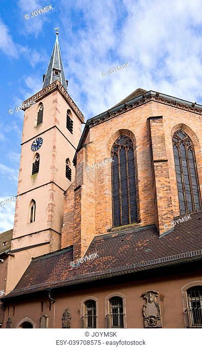 Church of Old Saint Peter (Saint-Pierre-le-Vieux, circa 1382). Strasbourg (UNESCO site), Alsace region, France