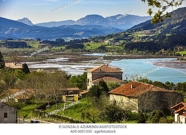 Kanala. Urdaibai Biosphere Reserve. Biscay, Basque Country, Spain