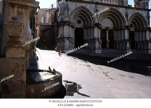 Cathedral square. Cuenca. Spain