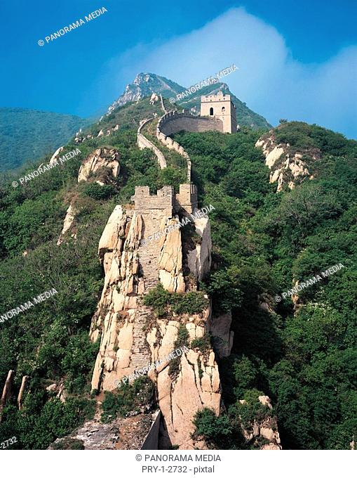 View of Badaling Great Wall, Beijing