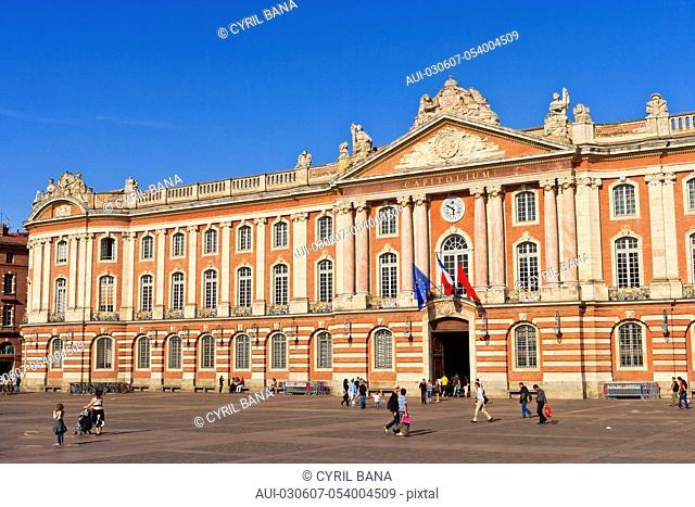 France, Toulouse, [City Hall], Capitol Square, Place du Capitol
