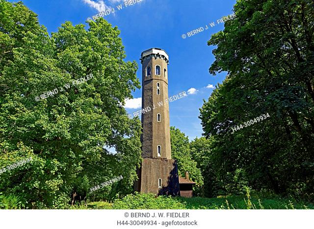 Ludwig's storm on the thunder mountain, observation tower, panorama, Kirchheimbolanden Germany