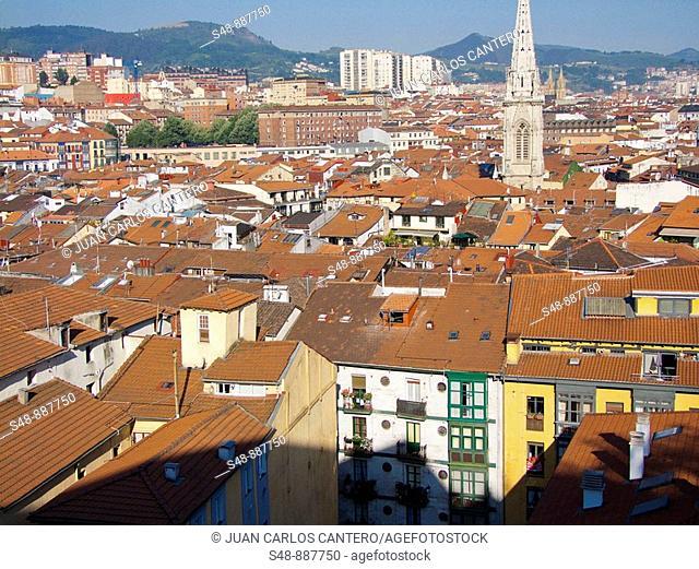 Vistas de Bilbao. Vizcaya. Basque Country. Spain