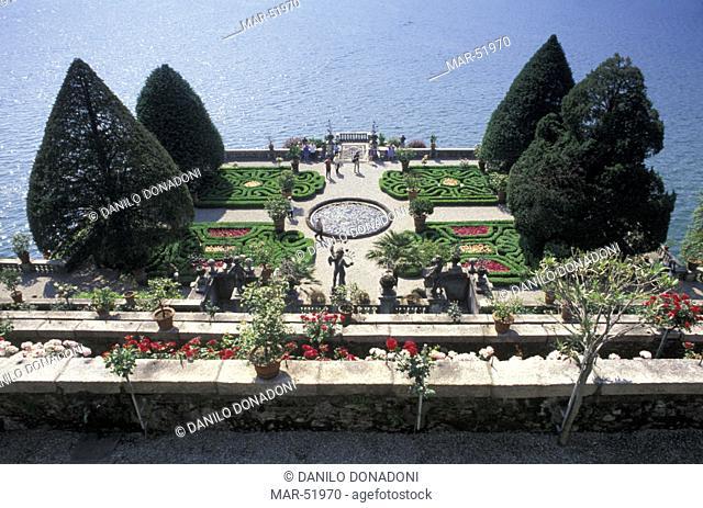 gardens, stresa isola bella, italy