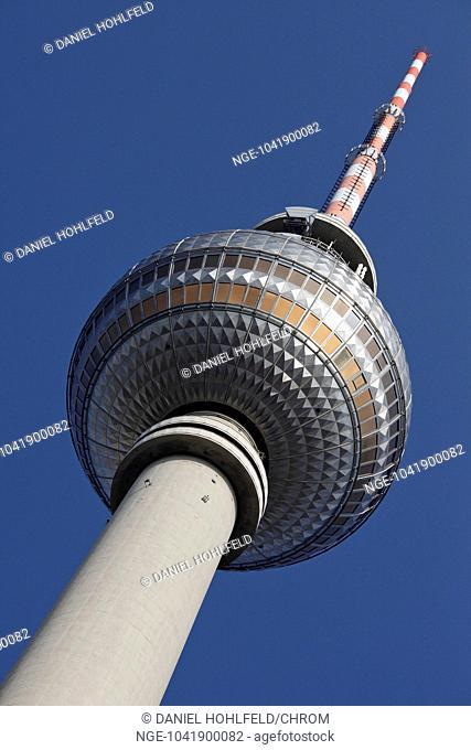 TV tower, Alexanderplatz, Berlin, Germany