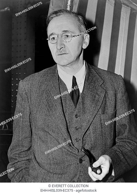 Friedrich August von Hayek's 1944 book, 'The Road to Serfdom', attacked socialism. Hayek shared the 1974 Nobel Prize in Economic with Gunnar Myrdal
