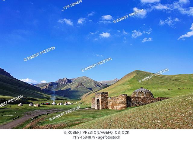Tash Rabat caravanserai, Tash Rabat Valley, Kyrgyzstan