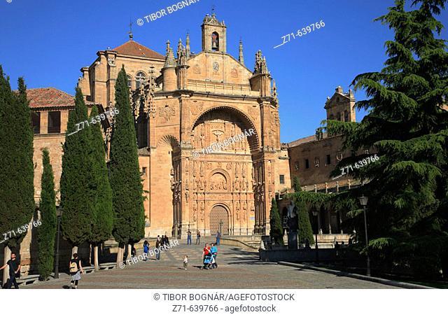 Spain, Castilla Leon, Salamanca, San Esteban convent and church