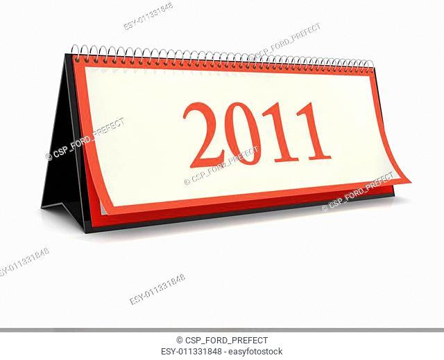 German desktop Calendar 2011