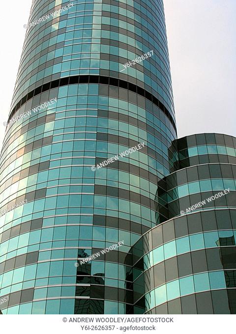 Tower blocks of the Intercontinental Hotel Bangkok Thailand