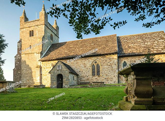 Historic church of St Mary Magdalene in Bolney village, West Sussex, England. High Weald
