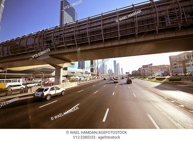 Sheikh Zayed Road, Dubai, UAE