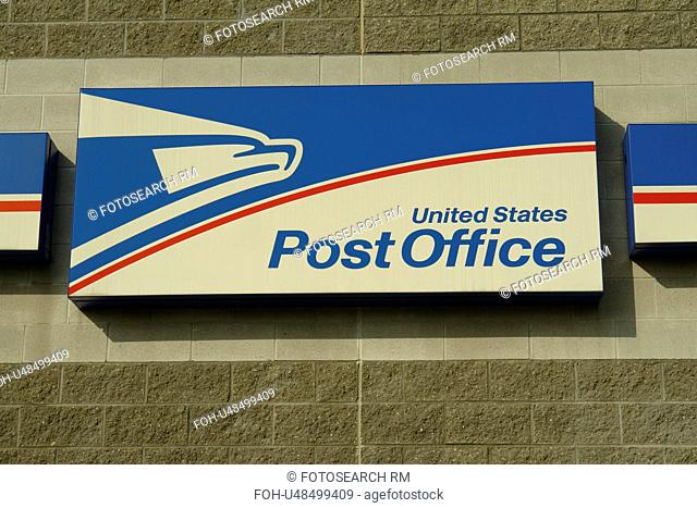 West Chester, PA, Pennsylvania, Chester County, U.S. Post Office, sign
