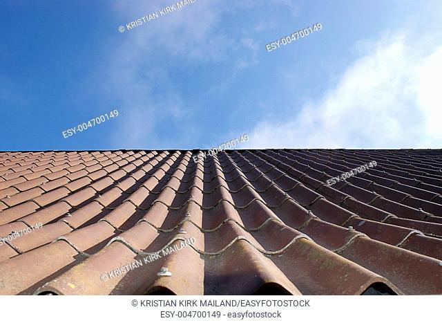 Roof of eternit