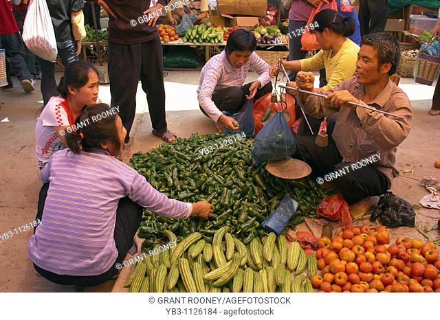 Xingping Market , near Yangshuo Guangxi Province , China