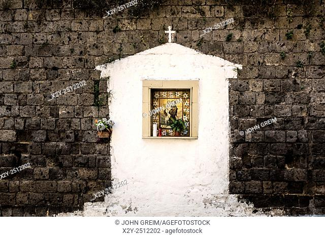 Roadside shrine, Sorrento, Italy