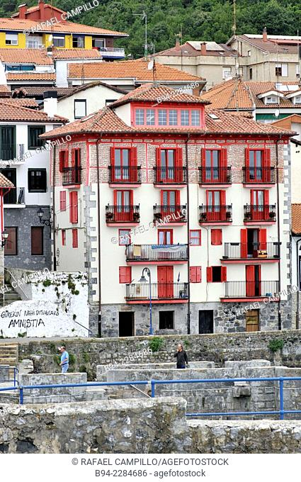 Mundaca or Mundaka. Biscay. Basque country. Spain