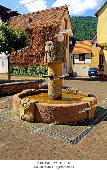 Wells, Annweiler in the Trifels Germany