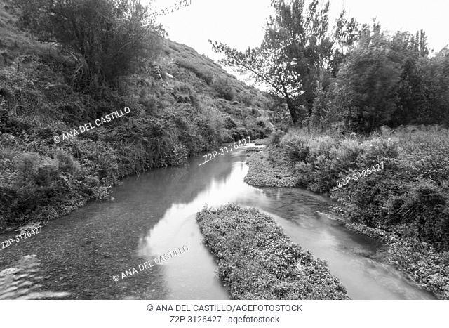 Summer landscape in Teruel province Aragon Spain