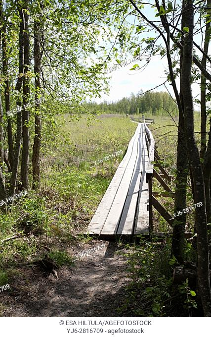 Siikalahti Wetland Nature Reserve, Finland