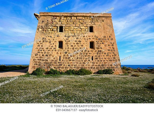 San Jose tower in Nova Tabarca island of Alicante Spain