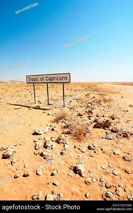 wendekreis des steinbocks namibia