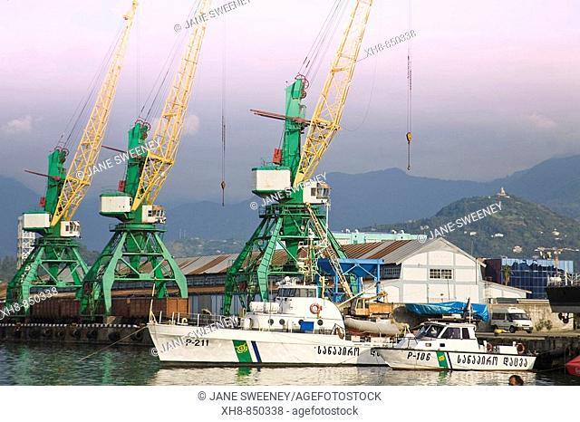 Port, Batumi, Georgia