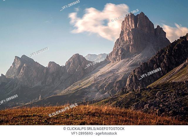 Passo Giau, Belluno province, Veneto, Italy, Europe