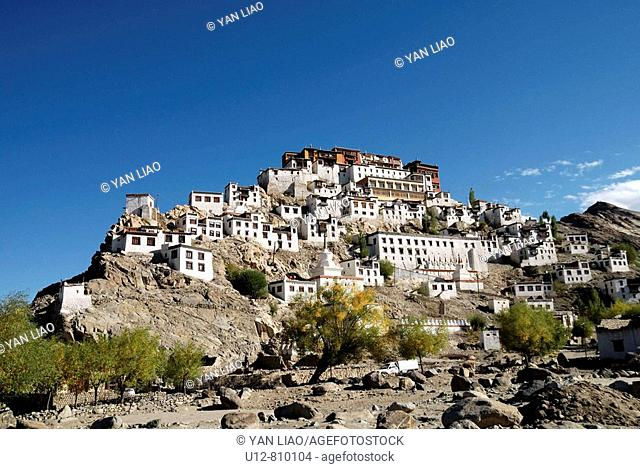 Thiksey monastery is Ladakh famous monastery,is one of the most beautiful monastery