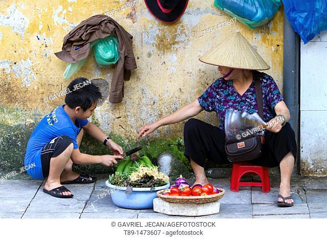 Hanoi Market, Vietnam