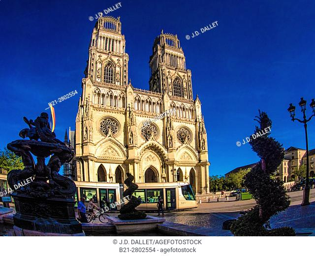 France, Loiret. Cathedrale of Orléans