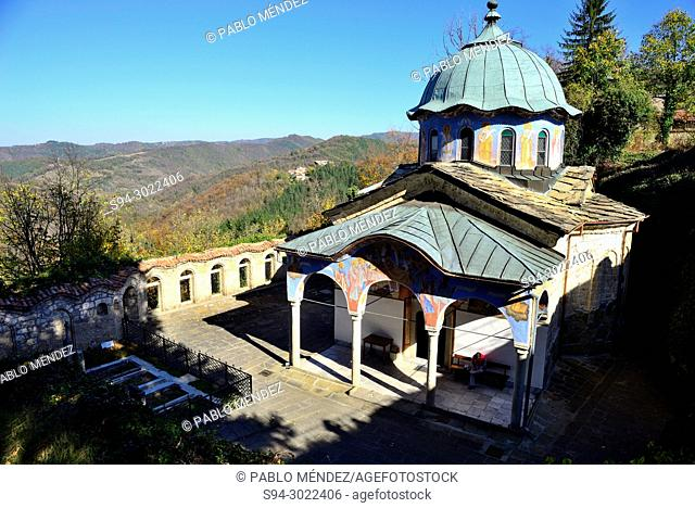 Sokolsky monastery, near of Etar, Bulgaria