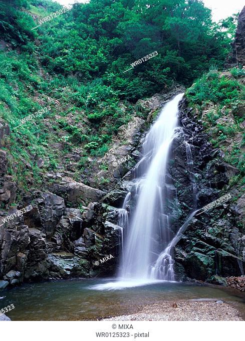 Waterfall in Shirakami Mountain, Aomori Prefecture, Japan