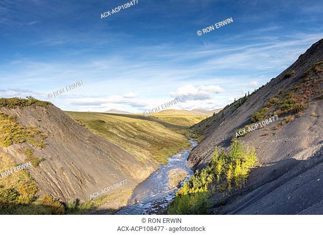 Vittrekwa Valley in the Northwest Territories of Canada