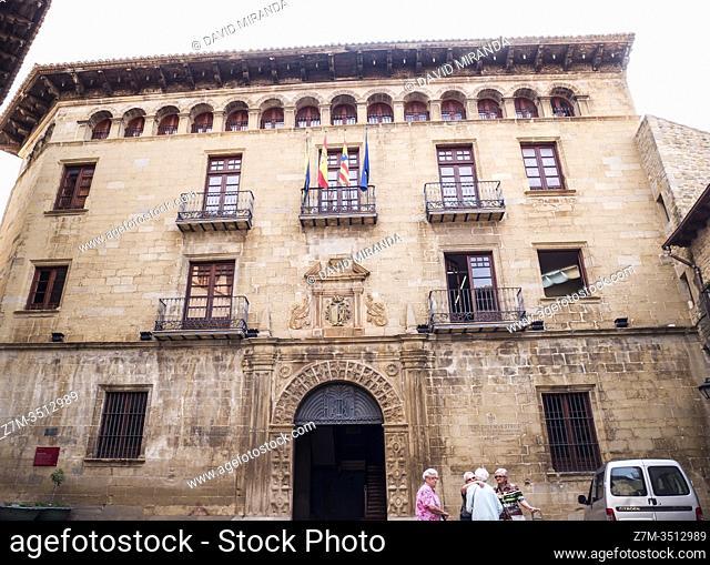 Sos del rey católico. Navarra. España