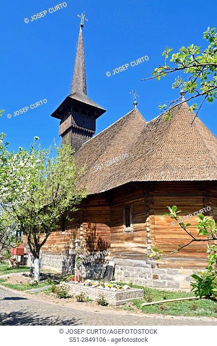 wooden church of Michael the Brave in Alba Iulia, Romania