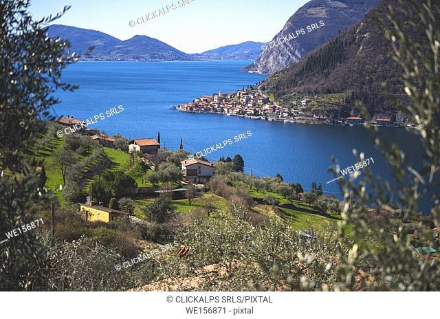 Peschiera Maraglio, Montisola, Brescia province, Italy, Lombardy district