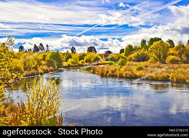 The Wood River in Southern Oregon, U. S. A
