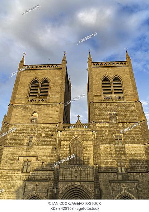Cathedrale Saint-Pierre de Saint-Flour, Saint-Flour, Cantal Department, Auvergne, France