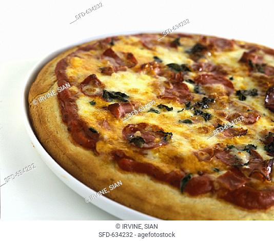 Pizza with Pepperoni