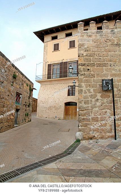 Old town of Palma de Majorca Balearic islands Spain