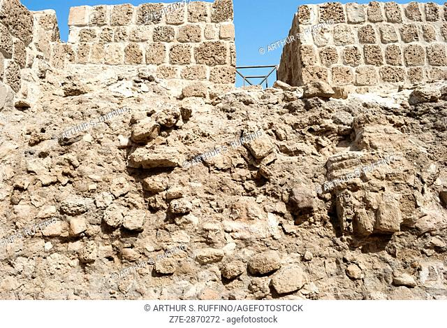 Qal at al-Bahrain (Bahrain Fort, Portuguese Fort). Bahrain, United Arab Emirates