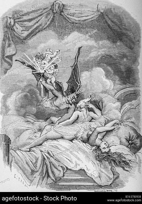 the hans carvel ring, tales of the fountain publisher garnier freres 1870