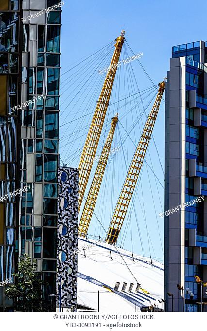 Modern Architecture, Greenwich Peninsula, London, England
