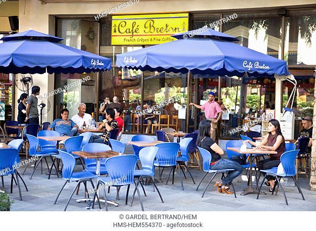 Philippines, Luzon island, Manila, Makati district, the Greenbelt mall