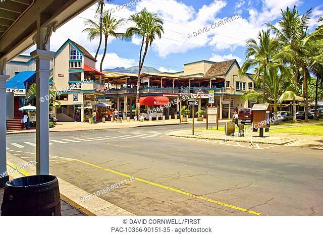 Hawaii, Maui, Lahaina, Canal street